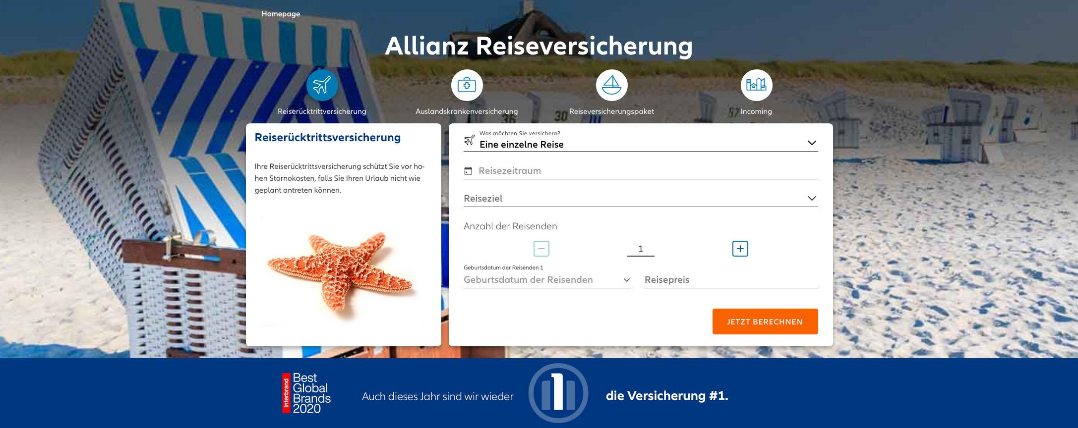 Allianz Website