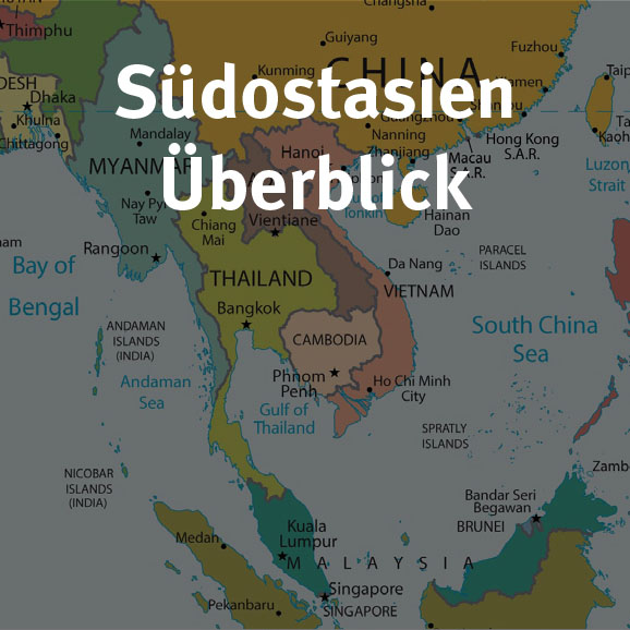Südostasien Überblick